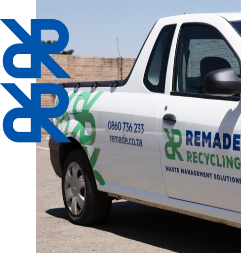 Remade recycling vehicle