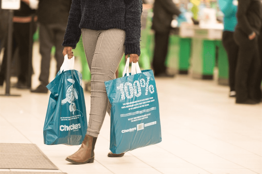 Shoprite & Checkers will pay you every time you re-use one of their new plastic bags